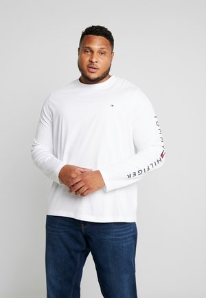 LOGO LONG SLEEVE TEE - Long sleeved top - white