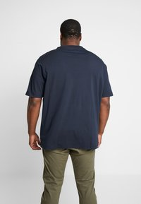 Tommy Hilfiger - CORP BOX LOGO TEE - Printtipaita - blue - 2