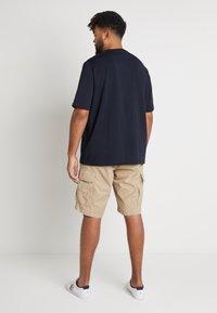 Tommy Hilfiger - FLAG CHEST EMBRDRY TEE - Print T-shirt - blue - 2