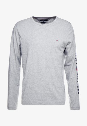 LOGO LONG SLEEVE TEE - T-shirt à manches longues - grey