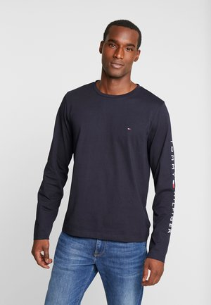 LOGO LONG SLEEVE TEE - Long sleeved top - blue