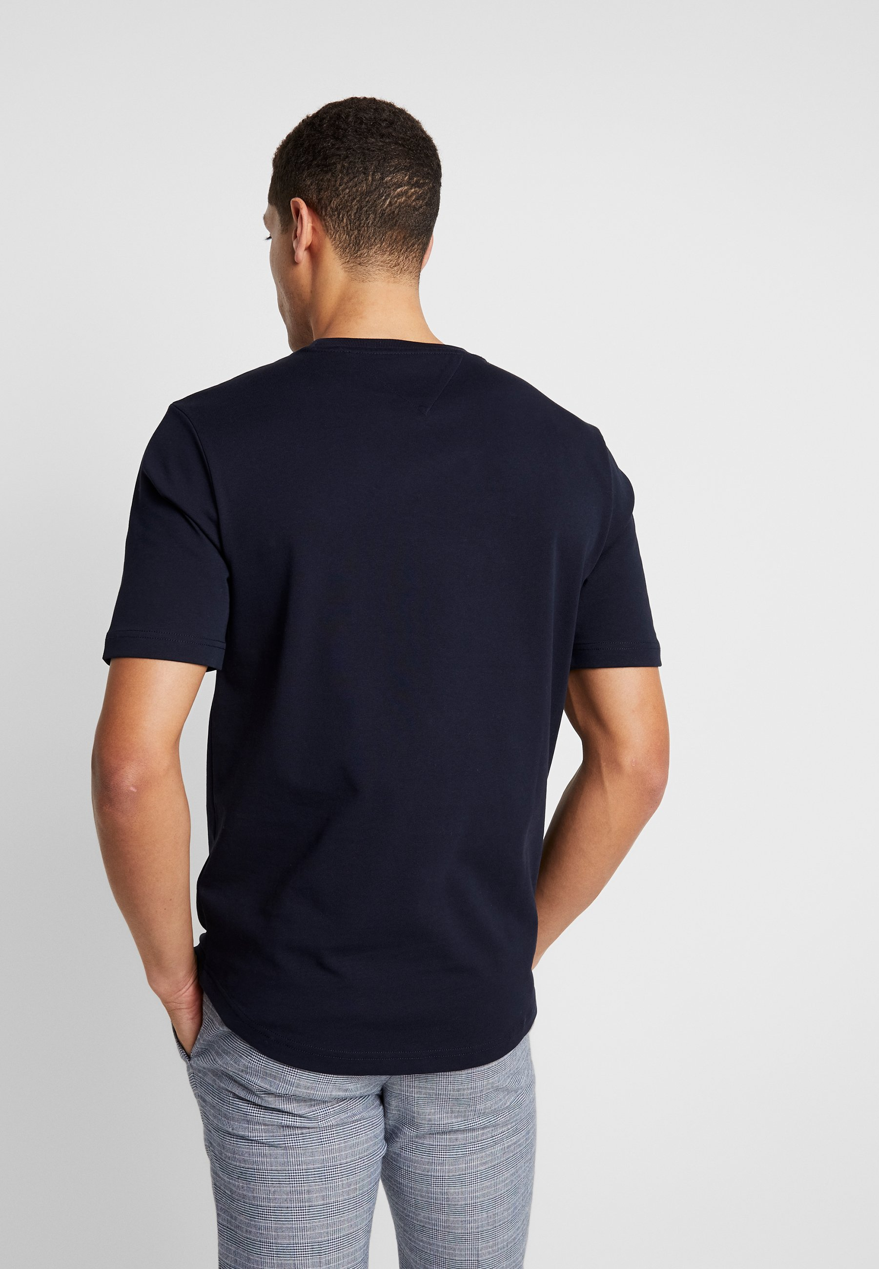 Tommy Hilfiger Arch Relaxed Fit Tee - T-shirt Med Print Blue