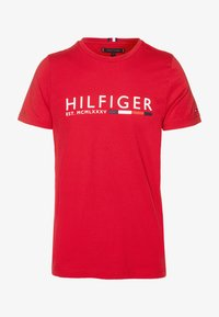 Tommy Hilfiger - T-shirt con stampa - red - 4