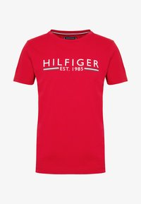 Tommy Hilfiger - 1985 TEE - T-shirt con stampa - red - 3