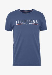 Tommy Hilfiger - 1985 TEE - T-shirt con stampa - blue - 3
