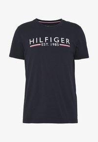 Tommy Hilfiger - 1985 TEE - Print T-shirt - blue - 3