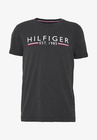 Tommy Hilfiger - 1985 TEE - Camiseta estampada - grey - 3