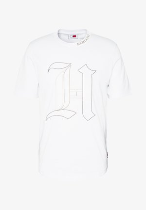 LEWIS HAMILTON 'H' TEE - T-shirt imprimé - white