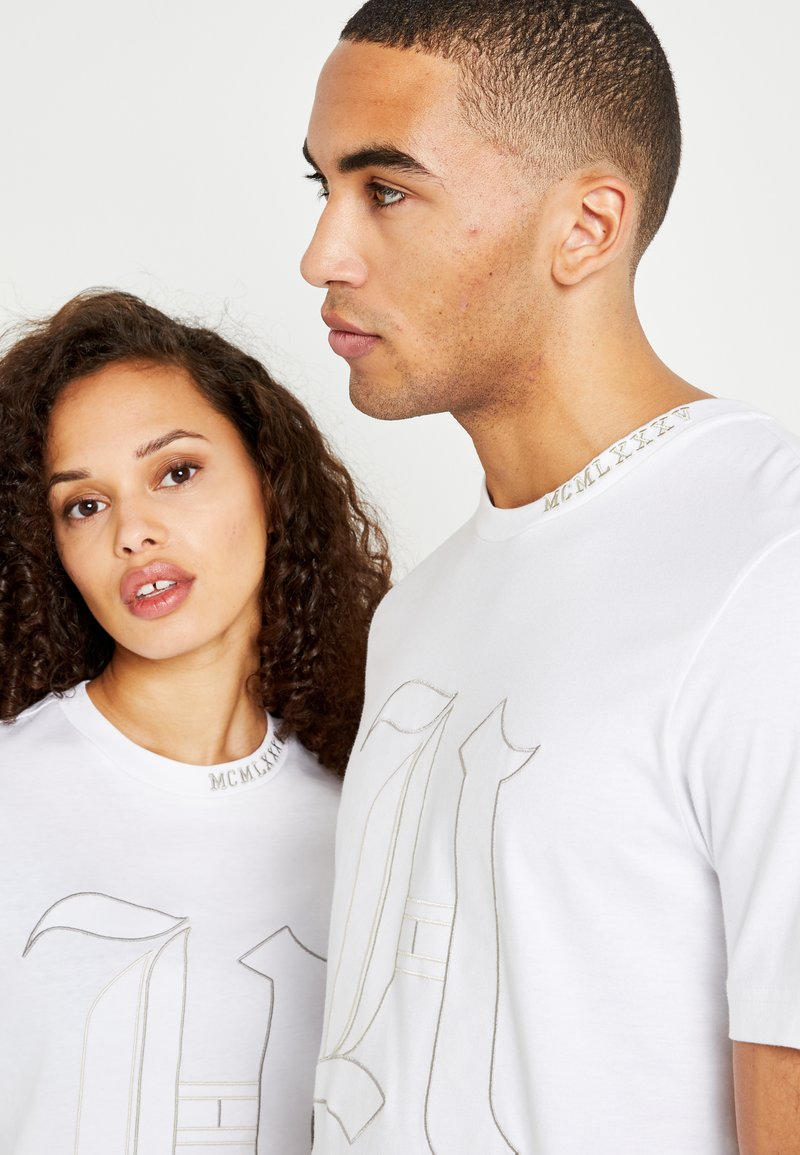 Tommy Hilfiger LEWIS HAMILTON 'H' TEE - T-shirts med print - white