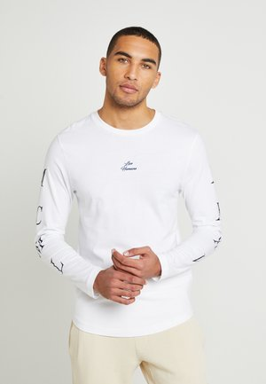 UNISEX LEWIS HAMILTON LONG SLEEVE - Long sleeved top - white