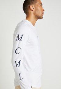 Tommy Hilfiger - LEWIS HAMILTON H LONG SLEEVE TEE - Langærmede T-shirts - white - 6