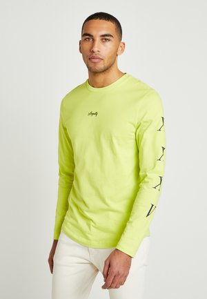 LEWIS HAMILTON H LONG SLEEVE TEE - Maglietta a manica lunga - yellow