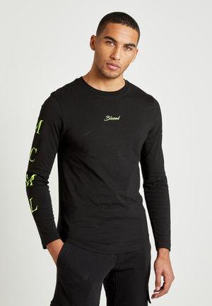 LEWIS HAMILTON H LONG SLEEVE TEE - Long sleeved top - black