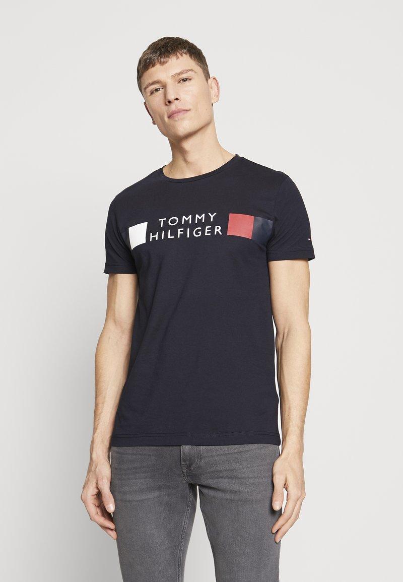 Tommy Hilfiger - Camiseta estampada - blue