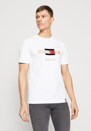 ICON ROPE FRAME RELAX TEE - T-shirt print - white