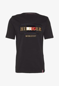 Tommy Hilfiger - ICON ROPE FRAME RELAX TEE - T-shirts print - blue - 3