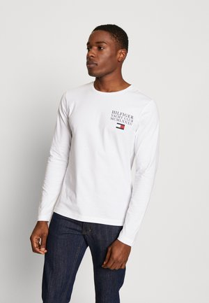 YACHT CLUB LONG SLEEVE TEE - Topper langermet - white