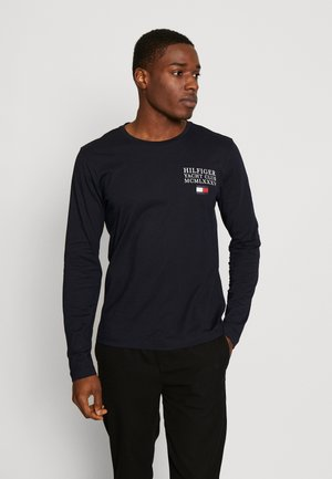 YACHT CLUB LONG SLEEVE TEE - Long sleeved top - blue