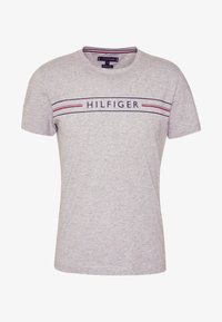 Tommy Hilfiger - CORP TEE - T-shirt con stampa - grey - 3