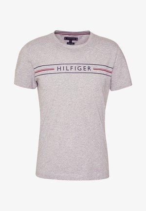 CORP TEE - T-shirt z nadrukiem - grey