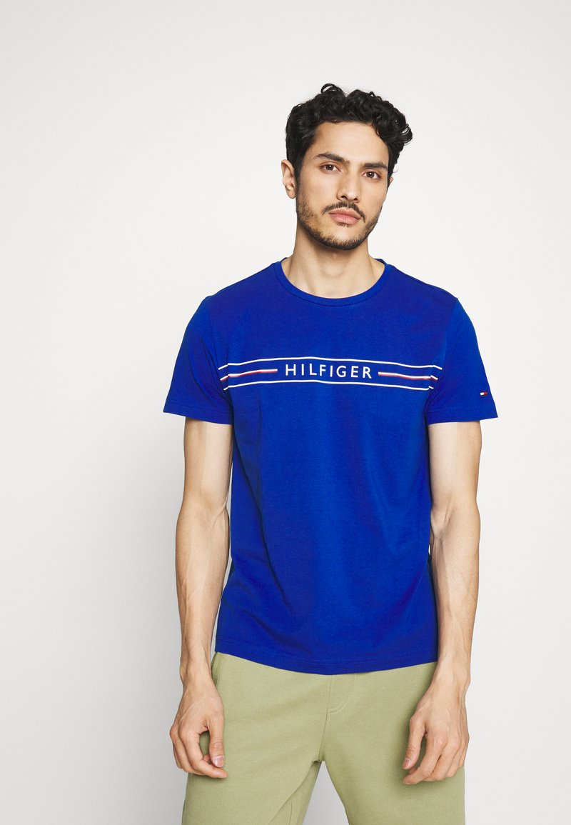 Tommy Hilfiger - CORP TEE - T-shirt con stampa - blue