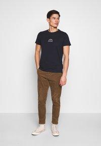 Tommy Hilfiger - ARCH TEE - Print T-shirt - blue - 1