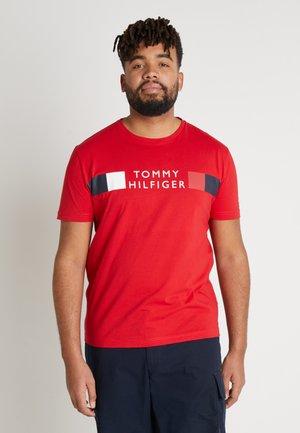 STRIPE TEE - T-shirt imprimé - red