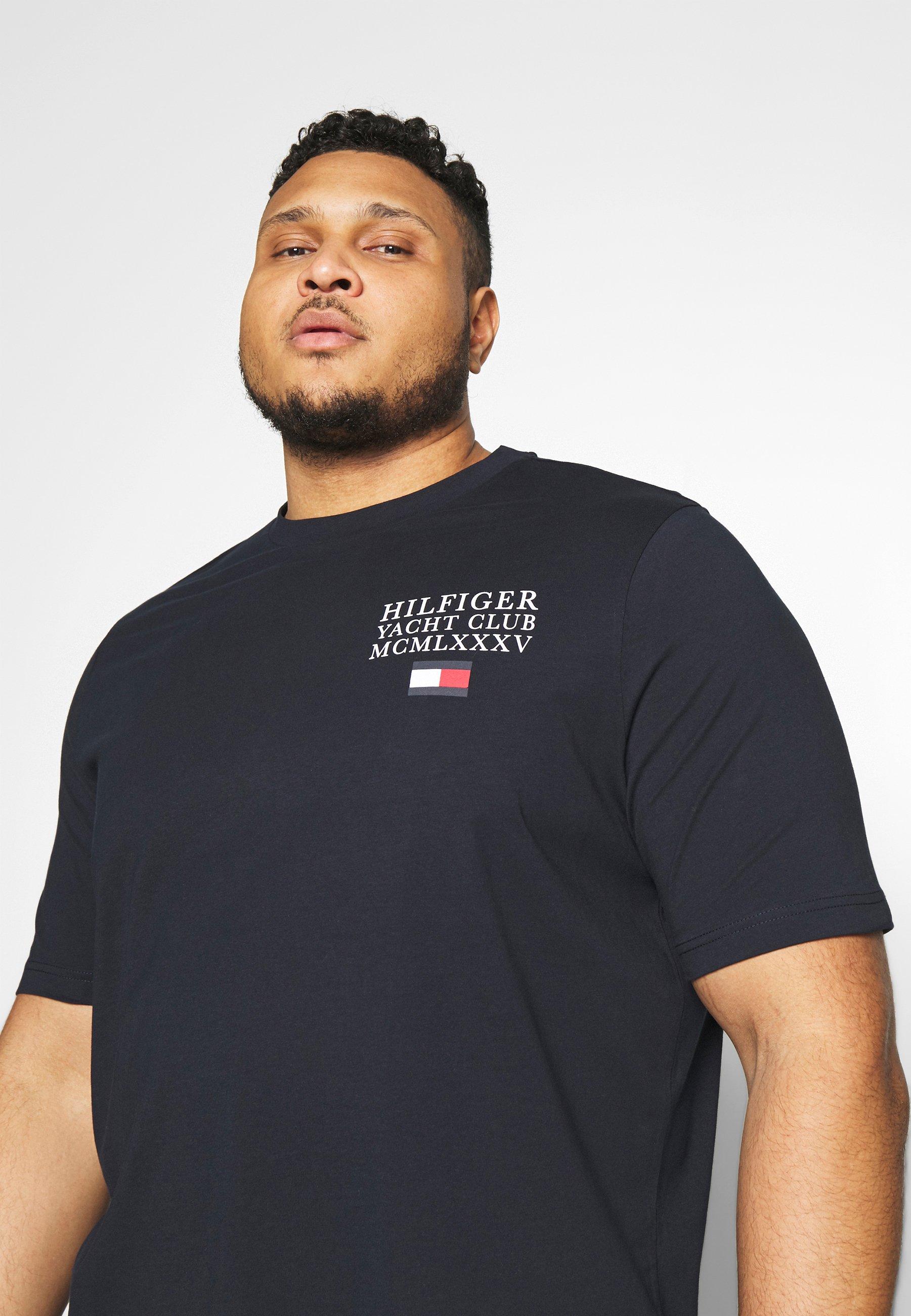 Tommy Hilfiger YACHT CLUB TEE - T-shirt imprimé - blue