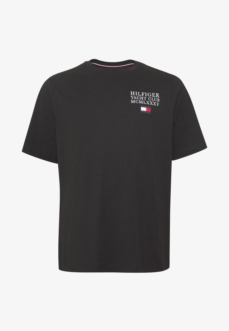 Tommy Hilfiger YACHT CLUB TEE - T-shirts med print - black