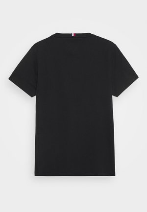 COOL SIGNATURE TEE - T-shirt z nadrukiem - black