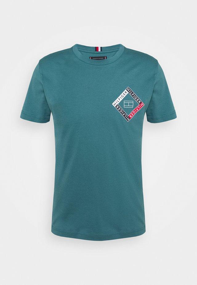 CORP DIAMOND TEE - T-Shirt print - green