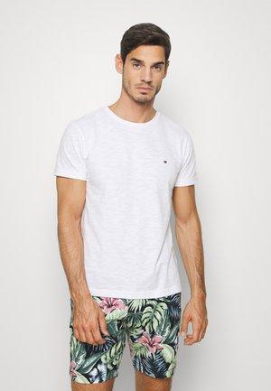 SLUB TEE - T-shirt basique - white