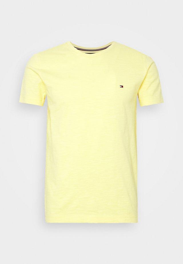 SLUB TEE - T-shirt basic - yellow
