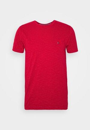 SLUB TEE - Jednoduché triko - red