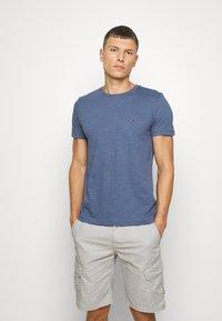 Tommy Hilfiger - SLUB TEE - Basic T-shirt - blue - 2
