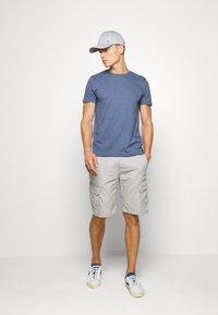 Tommy Hilfiger - SLUB TEE - Basic T-shirt - blue - 1