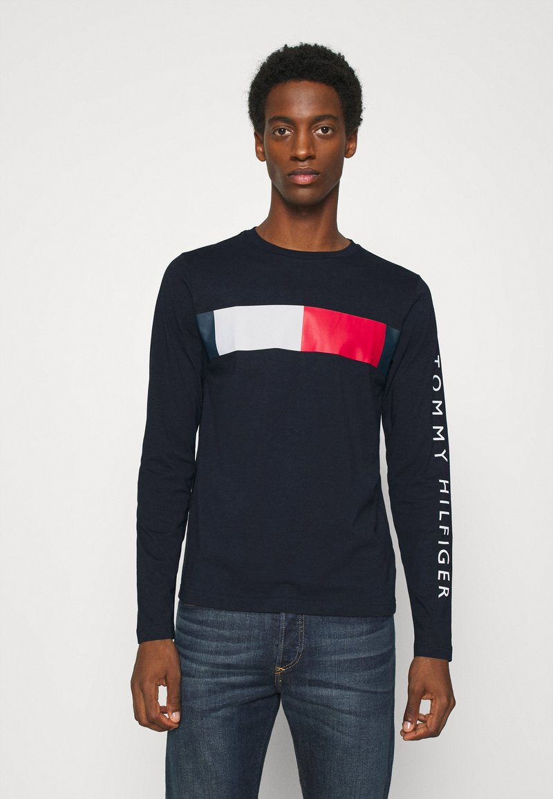 Tommy Hilfiger - BRANDED - Long sleeved top - blue