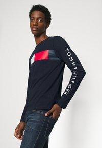 Tommy Hilfiger - BRANDED - Long sleeved top - blue - 3