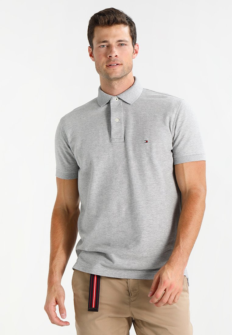 Tommy Hilfiger - PERFORMANCE REGULAR FIT - Polo - cloud heather