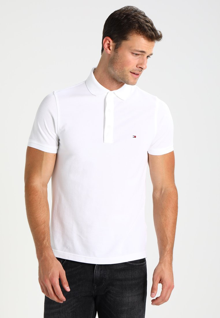 Tommy Hilfiger - SLIM FIT - Polo - white