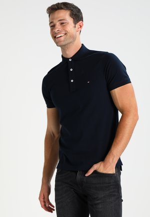 SLIM FIT - Polo - sky captain