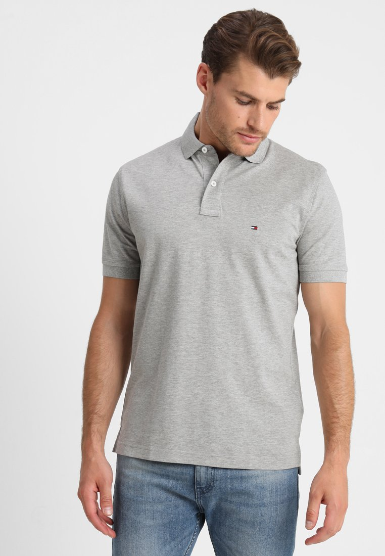 Tommy Hilfiger - CORE REGULAR FIT - Polo - cloud heather
