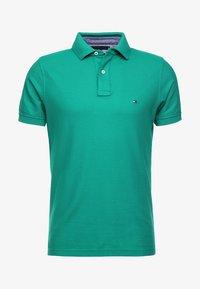 Tommy Hilfiger - HILFIGER SLIM  - Polo shirt - green - 3