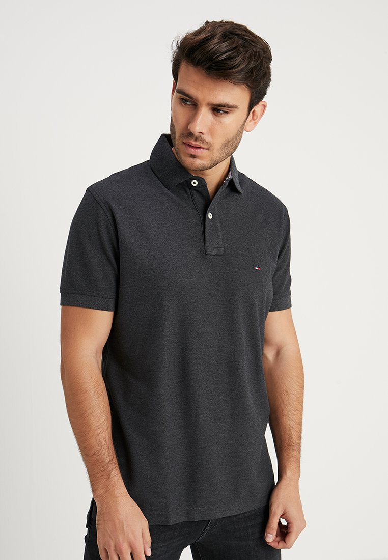 Tommy Hilfiger - REGULAR - Polo shirt - grey