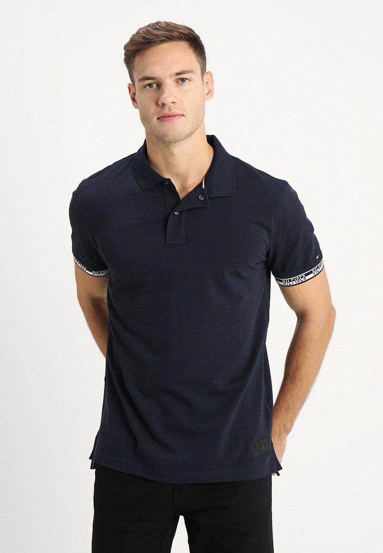 Tommy Hilfiger - HEATHER BADGE REGULAR - Poloshirt - blue