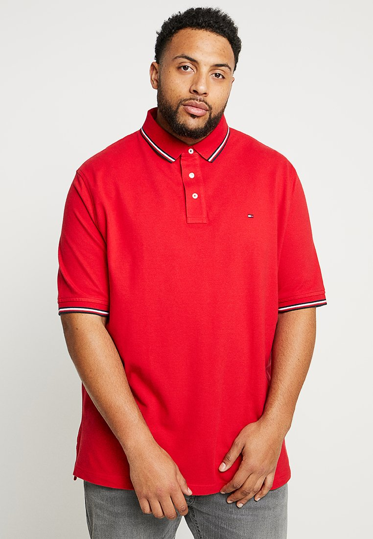 Tommy Hilfiger - TIPPED  - Polo shirt - red