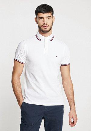 TIPPED SLIM - Poloshirt - white