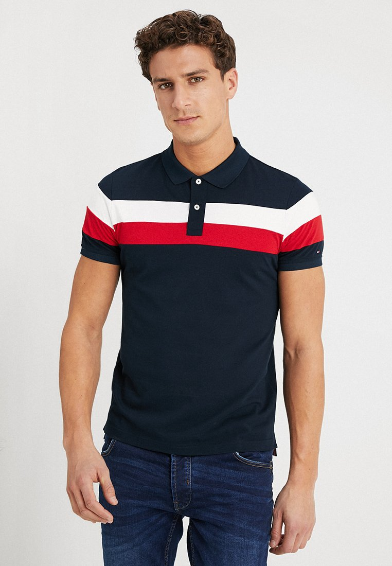 Tommy Hilfiger - CHEST STRIPE SLIM FIT - Poloshirt - multi