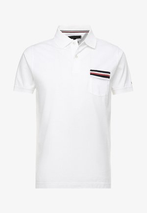 TIPPED POCKET SLIM  - Polo - white