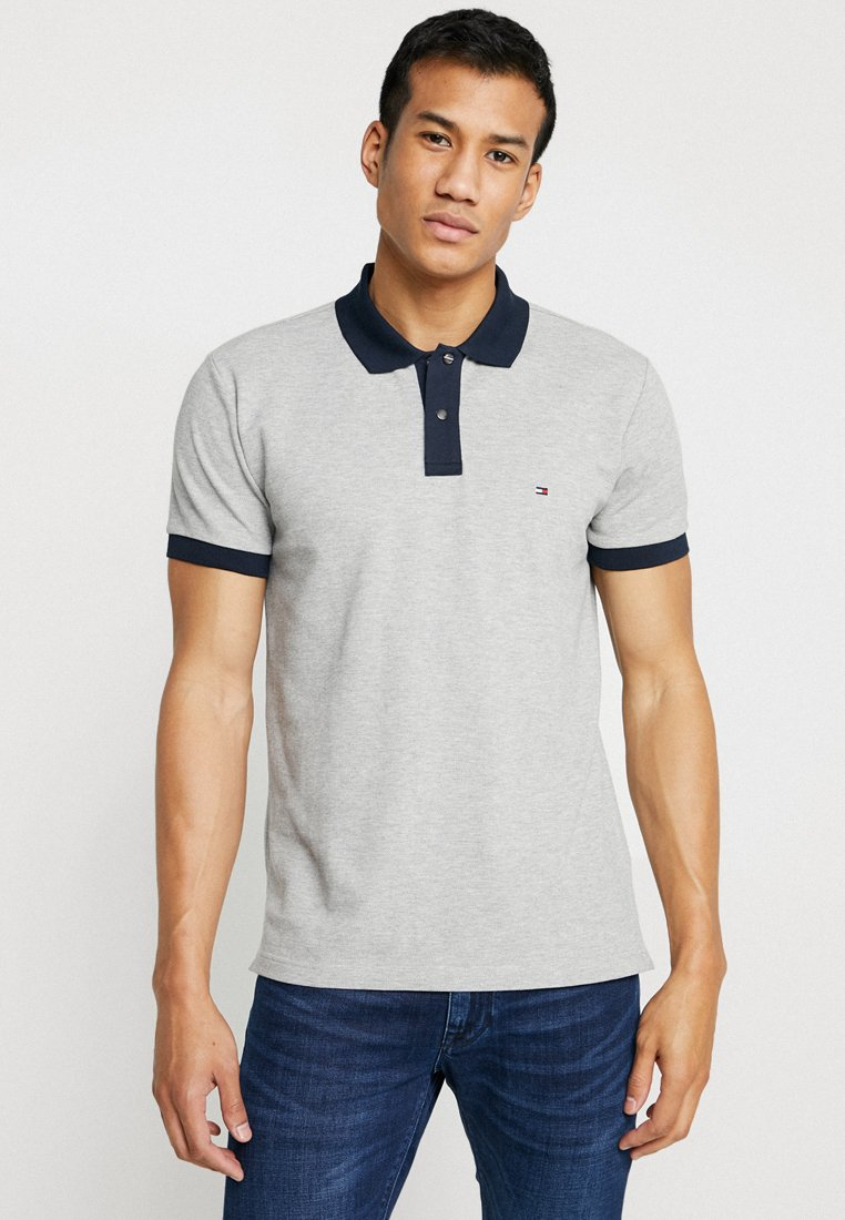 Tommy Hilfiger - CONTRAST PLACKET REGULAR - Poloshirt - grey